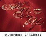 happy new year | Shutterstock . vector #144225661