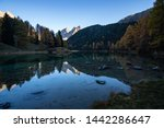 Palpuognasee Lake In The Swiss...