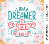 sketch banner with fun slogan...   Shutterstock .eps vector #1442287454