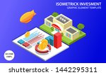 isometrick investment vector... | Shutterstock .eps vector #1442295311