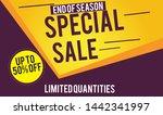 special sale design for...   Shutterstock .eps vector #1442341997