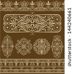 design elements | Shutterstock .eps vector #144240661