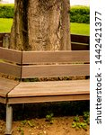 Park Bench Around E Tree