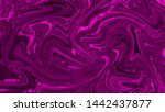 beautiful liquid marble... | Shutterstock . vector #1442437877