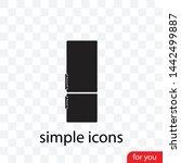 a fridge vector icon  a  symbol ...   Shutterstock .eps vector #1442499887