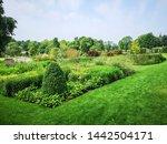 harrogate  uk   june 29 2019 ... | Shutterstock . vector #1442504171