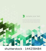 abstract template background... | Shutterstock .eps vector #144258484