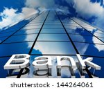 bank building  3d images | Shutterstock . vector #144264061