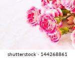 pink carnation flower   Shutterstock . vector #144268861