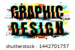 creative letters of graphic... | Shutterstock .eps vector #1442701757