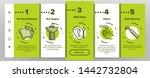 hygiene  cleaning onboarding... | Shutterstock .eps vector #1442732804
