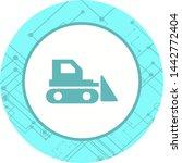 bulldozer icon in trendy style... | Shutterstock .eps vector #1442772404