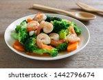 Close Up Of Stir Fried Broccol...