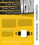 eps  website design template | Shutterstock .eps vector #144280531