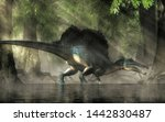 A Spinosaurus In A Swamp....