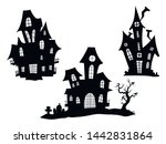Set Of Haunted Houses For...