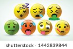 high quality icon 3d vector... | Shutterstock .eps vector #1442839844