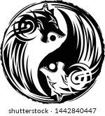 vector illustration of a symbol ... | Shutterstock .eps vector #1442840447