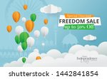 indian independence day sale ... | Shutterstock .eps vector #1442841854