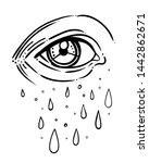 eye of providence. masonic... | Shutterstock .eps vector #1442862671
