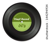 green vinyl record with the...   Shutterstock .eps vector #144294934