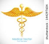 illustration of medical symbol...   Shutterstock .eps vector #144297604
