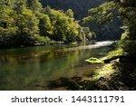 Rio Calma Fluindo Entre Pedras...