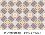 colorful seamless pattern for... | Shutterstock . vector #1443174314