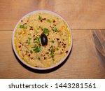 babaganoush   meze or turkish...   Shutterstock . vector #1443281561