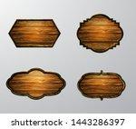 vector realistic illustration...   Shutterstock .eps vector #1443286397
