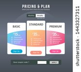 pricing plan ui design  full...