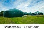 biogas plant | Shutterstock . vector #144340084
