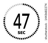 the 47 second countdown timer...