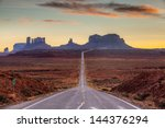 a road leading to monument... | Shutterstock . vector #144376294