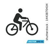Bicycle Icon Vector Design...