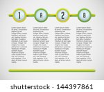 info graphic four two and two... | Shutterstock .eps vector #144397861
