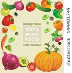 abstract elegance food design ...   Shutterstock .eps vector #144401749
