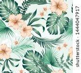 Vector Seamless Botanical...