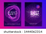 club flyer. trendy discotheque... | Shutterstock .eps vector #1444062314