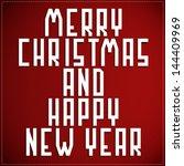 happy new year   Shutterstock .eps vector #144409969