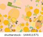 apricot   Shutterstock .eps vector #144411571
