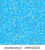 vector illustration of a blue... | Shutterstock .eps vector #144416221