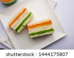 Tricolor Tiranga Sandwich With...
