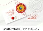 illustration of raksha bandhan  ... | Shutterstock .eps vector #1444188617