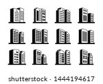 line perspective icons company...   Shutterstock .eps vector #1444194617