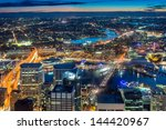 sydney   may 7  view of sydney... | Shutterstock . vector #144420967