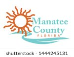 coat of arms of manatee county... | Shutterstock . vector #1444245131
