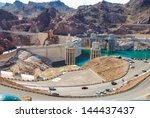Hoover Dam And Its Penstock...