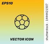 soccer ball vector icon...
