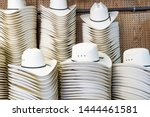 Cowboy Hats On Display For The...